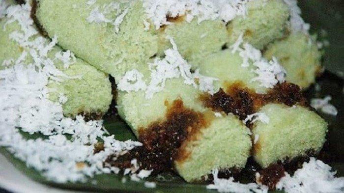 Ilustrasi kuliner Puthu Lanang di Malang, Jumat (13/11/2020).