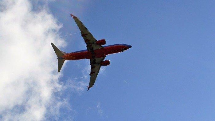 Ilustrasi maskapai Southwest Airlines.