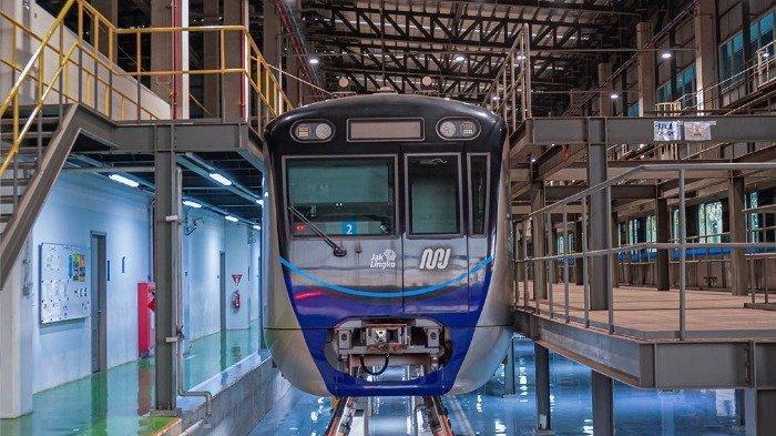 MRT Jakarta, Kamis (17/9/2020).