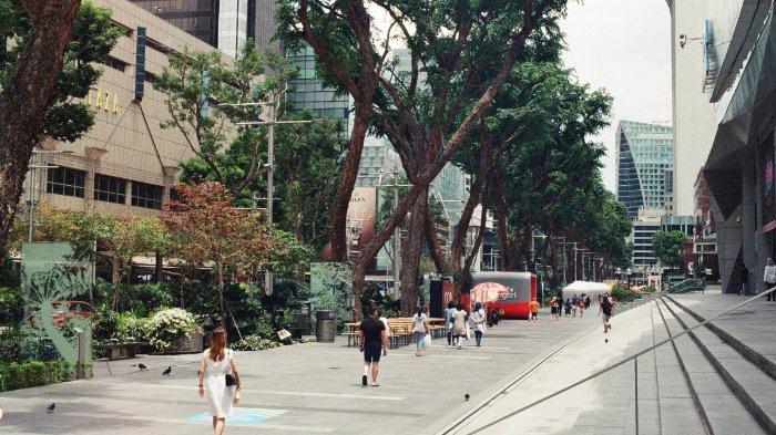 Ilustrasi Orchard Road, Singapura