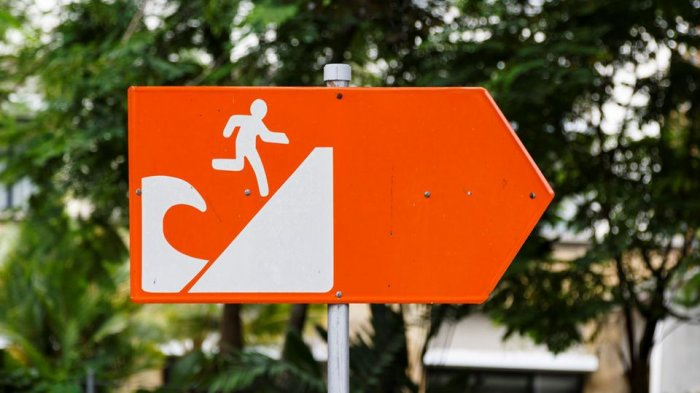 Penting! Inilah 5 Tips Menghadapi Ancaman Tsunami Saat Berwisata