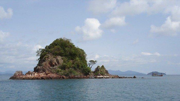 Ilustrasi pemandangan Pulau Koh Mak di Thailand, Jumat (18/9/2020).