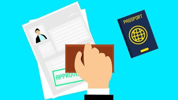 Ilustrasi pengajuan visa