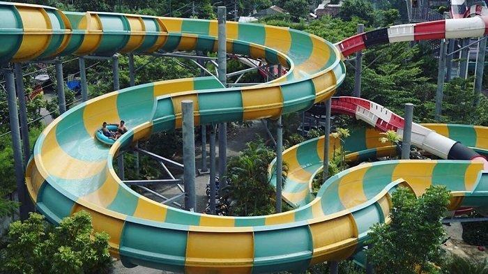 TRAVEL UPDATE : Jelajah Jogja Bay Pirates Adventure Waterpark, Wisata Air Populer di Jogja