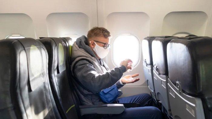 Penumpang Tanpa Masker Batuk dan Buang Ingus Pakai Selimut di Pesawat, Kena Denda Rp 150 Juta