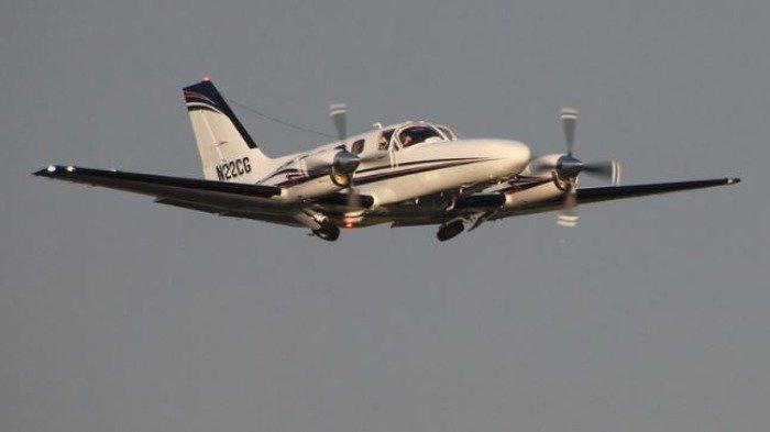 Ilustrasi pesawat Cessna 441 Conquest
