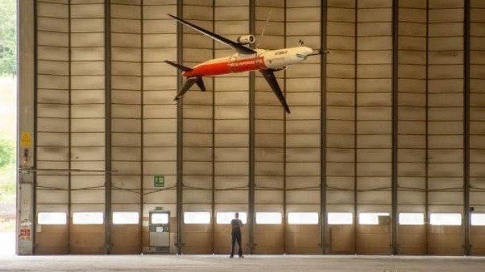 Perusahaan Airbus Eropa Luncurkan Pesawat dengan Ujung Sayap yang Mengepak