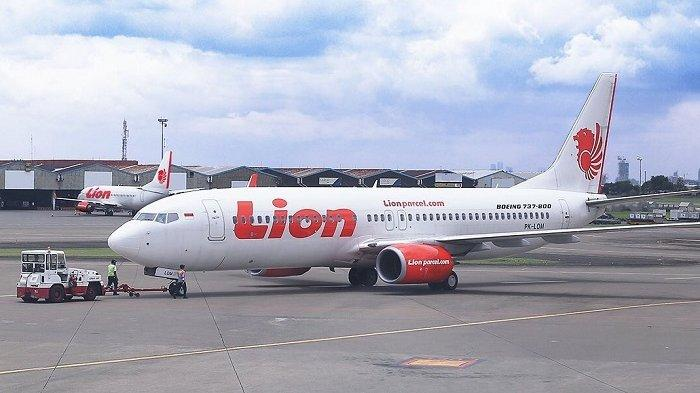 Ilustrasi maskapai Lion Air rute penerbangan Jakarta-Batam