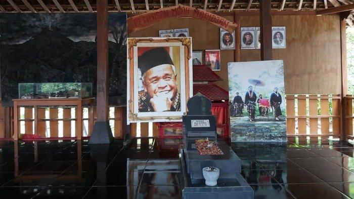 Ilustrasi Petilasan Mbah Maridjan di Yogyakarta