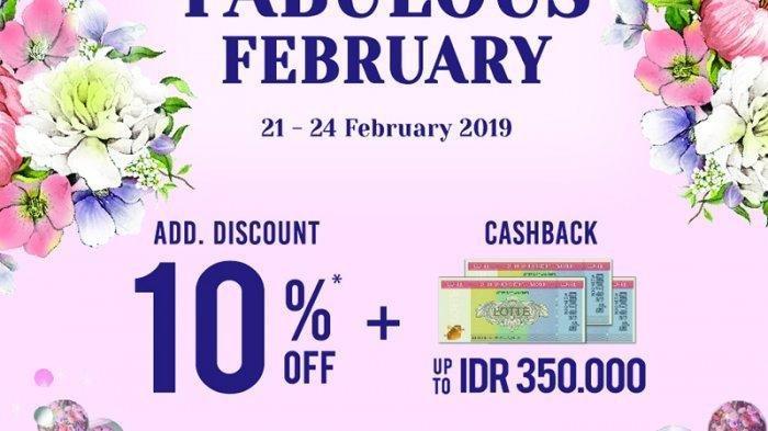Lotte Shopping Avenue Tawarkan Promo PAYDAY, Beli 1 Gratis 1 Selama Februari