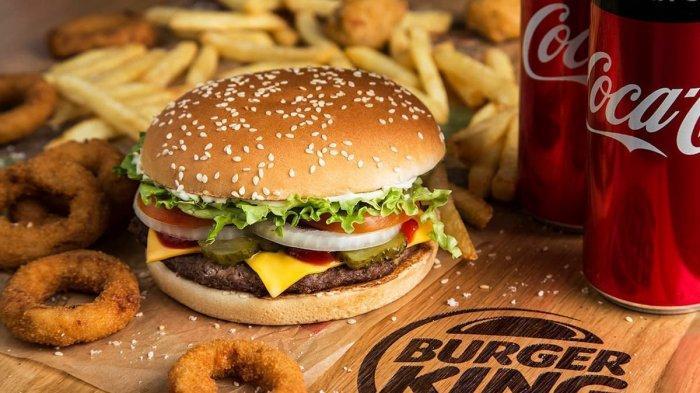 Promo Burger King Pilkada Serentak 2020, Beli Triple Cheese Rasher & Coke Cuma Rp 27 Ribuan