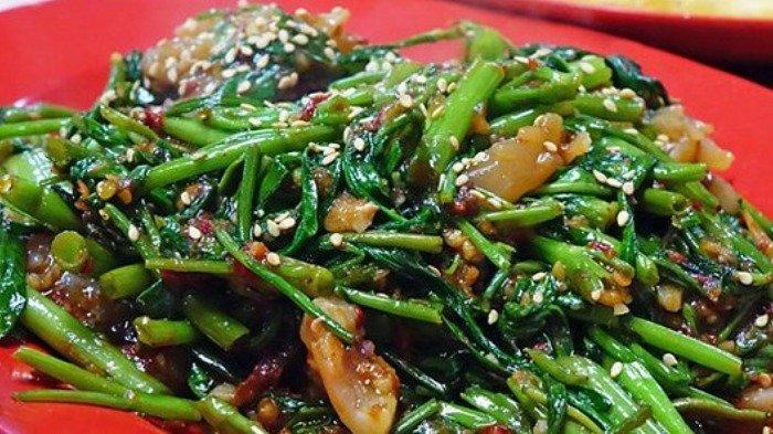 Menu Sahur: Resep Kangkung Saus Tiram, Sayur yang Enak dan Mudah Dibuat