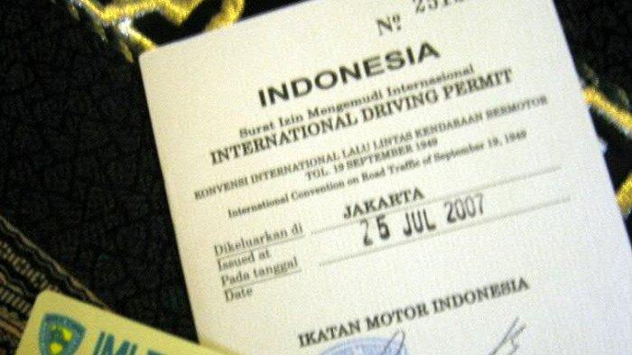 Ilustrasi SIM Internasional