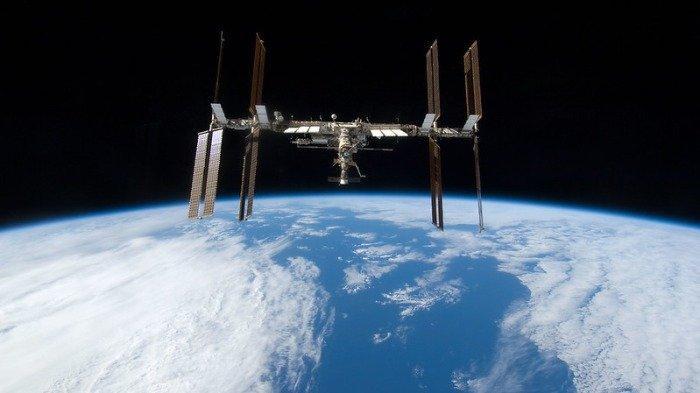 Ilustrasi Stasiun Luar Angkasa Internasional.