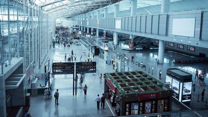 Ilustrasi suasana di bandara