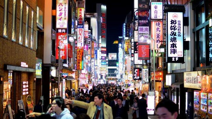 Jepang Deklarasi Darurat Covid-19, Gemerlap Malam Tokyo Hanya Diperbolehkan hingga Jam 8