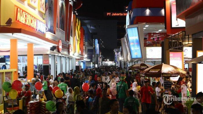Ilustrasi Suasana Keramaian Pekan Raya Jakarta