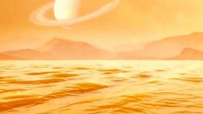 Astronom Berhasil Ungkap Keberadaan Danau Terbesar di Salah Satu Satelit Saturnus