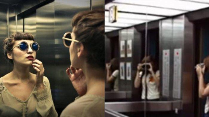 Sering Diabaikan! Ternyata Cermin yang Berada di Depan Elevator Punya Fungsi Tersembunyi