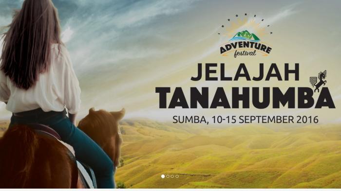 Indonesia Adventure Festival 2016 - Yuk, Explore Sumba Selama Lima Hari