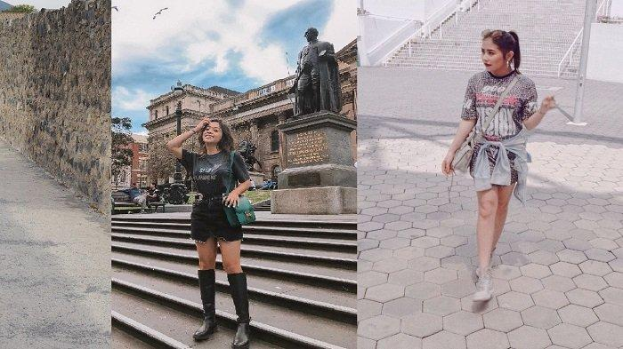 3 Inspirasi Gaya Swag ala Seleb dengan Paduan Oversized T-shirt Dress, Harga Terjangkau