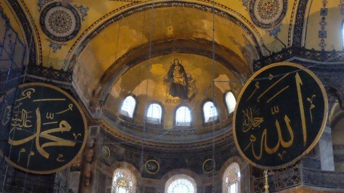 5 Fakta Menarik Hagia Sophia di Turki, Museum yang Punya Lambang Dua Agama