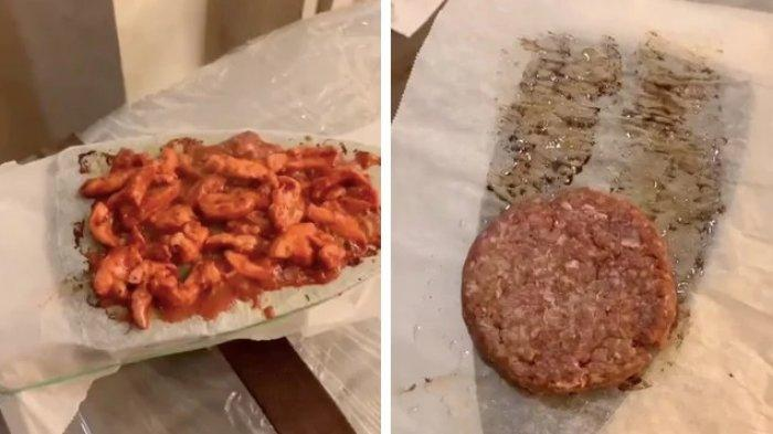 Dikarantina di Hotel, Koki Ini Masak Burger Pakai Setrika dan Teko Kopi, Video TikToknya Viral