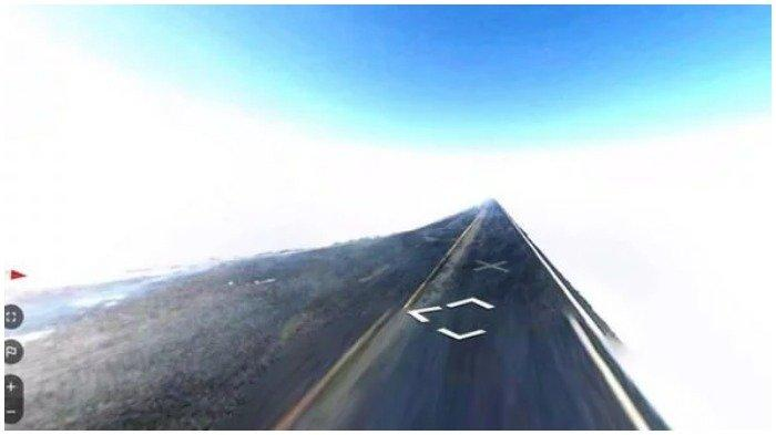 Google Maps Street View menangkap gambar jalanan misterius