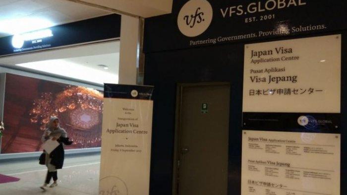 Japan Visa Application Centre di Jakarta.