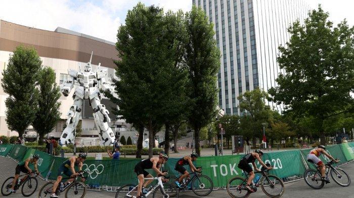 Fakta Unik Gundam Raksasa, Ikon Jepang yang Curi Perhatian di Triathlon Olimpiade Tokyo 2020