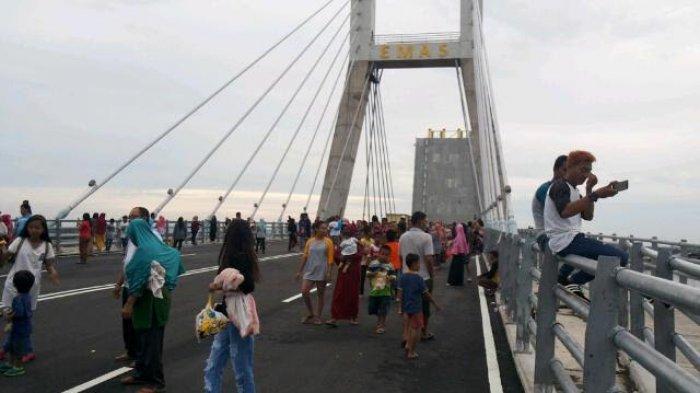 Jembatan Emas, Destinasi Baru di Bangka Belitung yang Mirip London Bridge