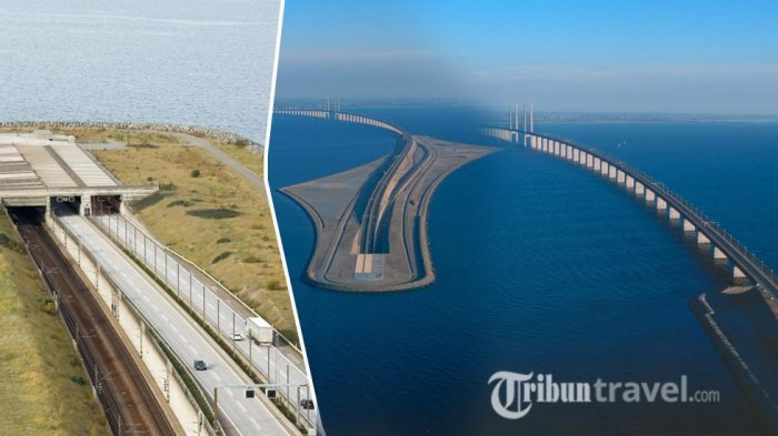Sekilas Jembatan Berujung di Tengah Laut, Dilihat dari Dekat, Kamu Akan Teriak: Arsiteknya Jenius