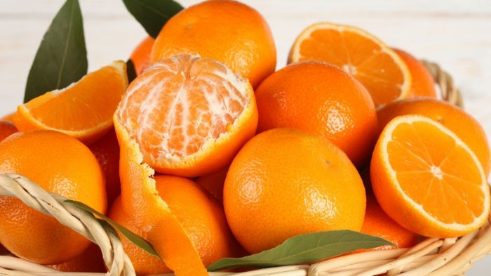 Ilustrasi buah jeruk yang memiliki kandungan vitamin C