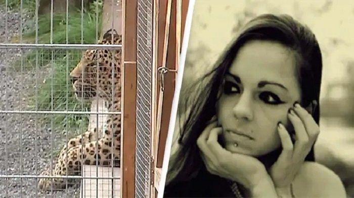 Jessica Leidolph dan macan tutul yang menyerangnya
