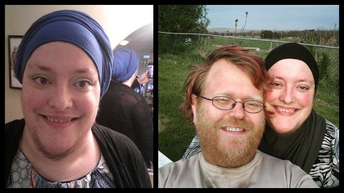 Dulu Rajin Mencukur, Kini Wanita 36 Tahun Asal Amerika Ini Ingin Tumbuhkan Jenggot Seperti Suaminya