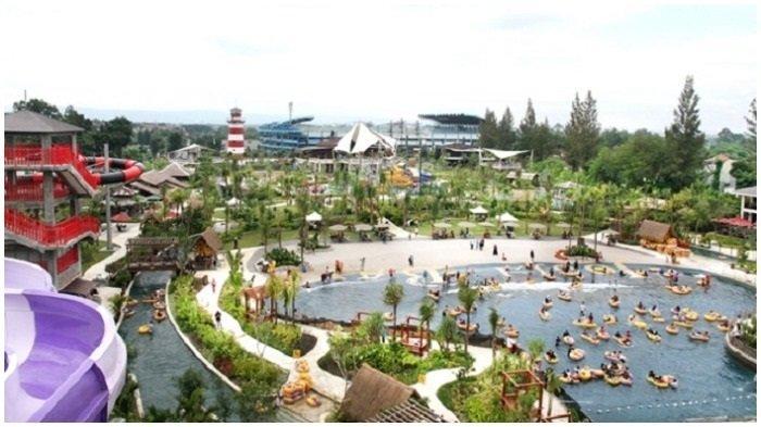 Ilustrasi keseruan di Jogja bay waterpark