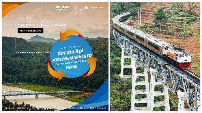 Mulai hari ini, KAI resmi luncurkan rute Jogja-Solo-Semarang-Purwokerto