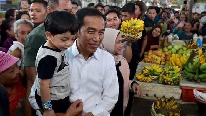 Setelah Makan Siang di Ubud, Jokowi Temani Jan Ethes Main di Pinggir Sawah