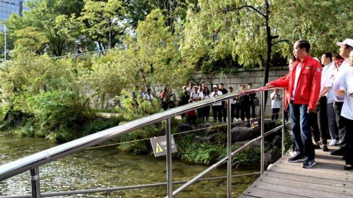 Sungai Cheonggyecheon yang Dikunjungi Jokowi Ternyata Jadi Lokasi Syuting Film dan Drama Korea