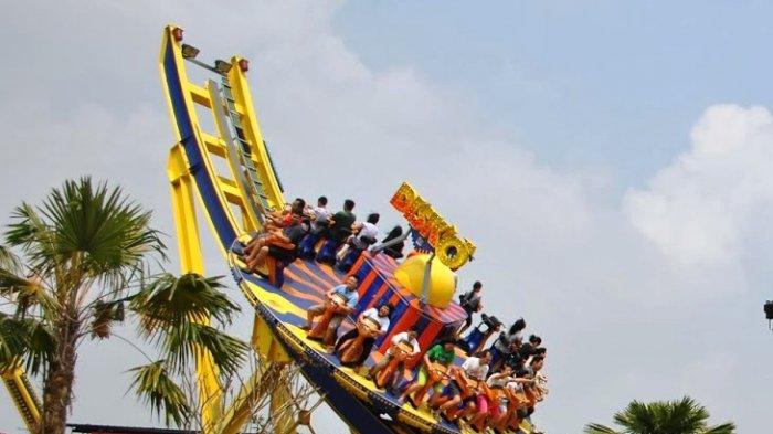 Wahana di Jungleland Adventure Theme Park