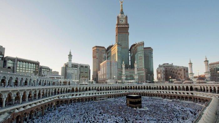 Ka'bah, Mekkah, Arab Saudi.