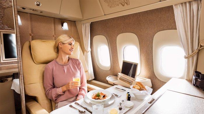 Skytrax Rilis 10 Kabin Pesawat Kelas Satu Terbaik di Dunia, Seperti Apa Fasilitasnya?