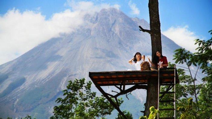Tak Hanya Mendaki Ini 6 Tempat Wisata Di Sekitar Gunung Merapi Yang Bisa Dikunjungi Tribun Travel