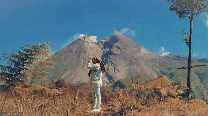 Kali Talang Balerante, Destinasi yang Suguhkan Kemegahan Gunung Merapi dari Klaten