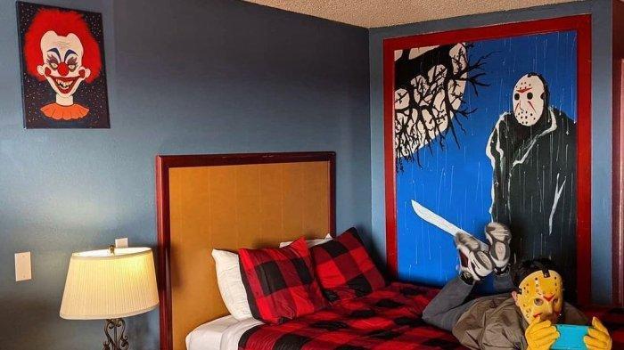 Kamar di Clown Motel