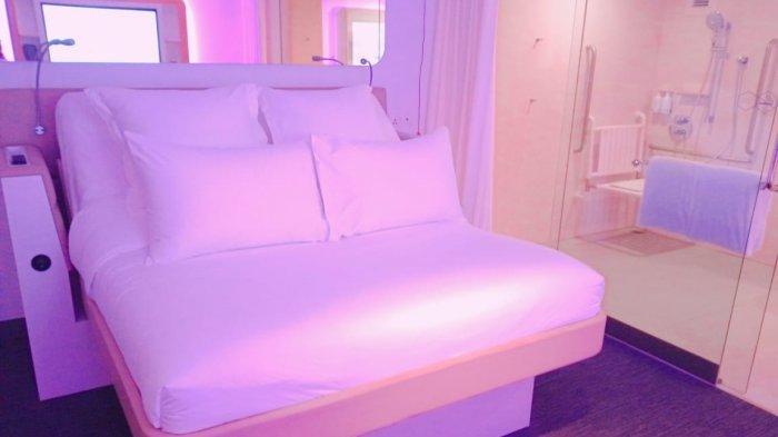 YOTELAIR, Hotel Baru di Jewel Changi Airport yang Ajak Tamu Seperti Berada di First Class Kabin Pesawat