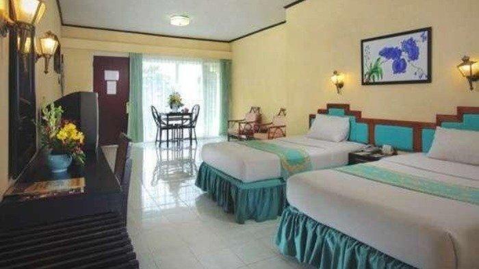 Kamar penginapan di Inna Tretes Hotel, Prigen, Pasuruan, Jawa Timur