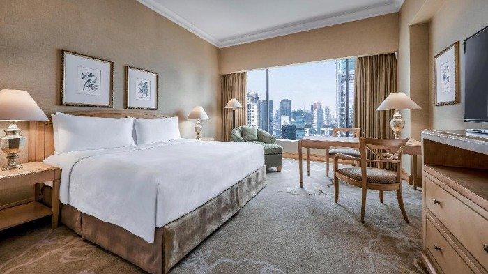 Kamar penginapan di JW Marriott Hotel Jakarta, Sabtu (26/12/2020).