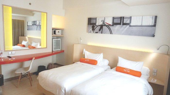 Kamar tipe Harris Room di Hotel Harris Sentraland Semarang