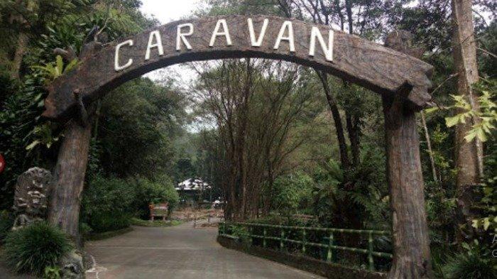 Kampung Caravan di Taman Safari Bogor
